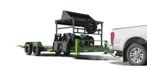 Felling's FT-16 IT-I Drop Deck Industrial Tilt Equipment Trailer