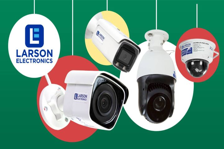 These high-resolution security cameras can help keep your establishment safe. - Photo: Larson Electronics