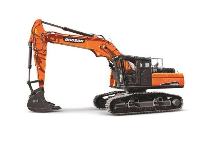 The road builders pair parts of Doosan log loaders and excavators for maximum efficiency and power. - Photo: Doosan