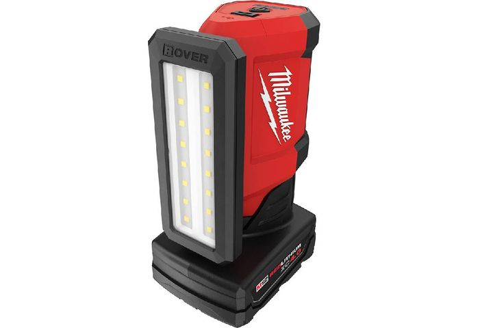 The new lighting solution provides users with a flexible source of light designed for service and repair applications across trades. - Photo: Milwaukee Tool