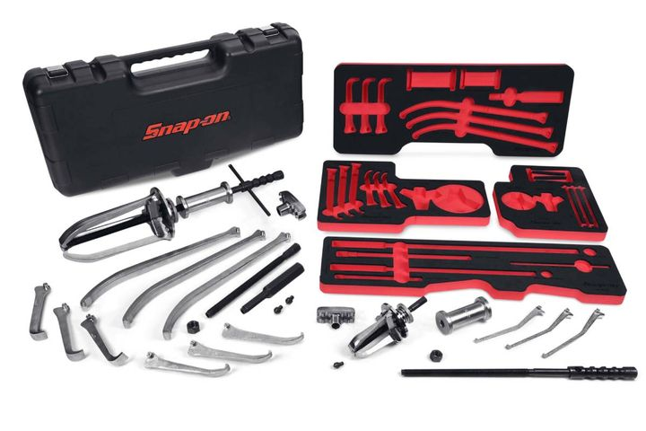 Heavy duty manual interchangeable master puller set (CJ2500) - Photo: Snap-on