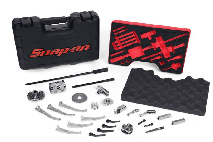 Light duty manual interchangeable master puller set (CJ2400) - Photo: Snap-on