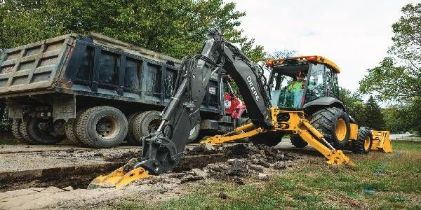 John Deere Improves Performance with L-Series Backhoe Upgrades