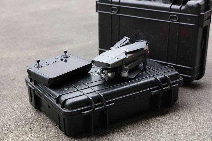 DJI's Mavic 2 Enterprise Advanced drone offers improved thermal vision and accuracy for critical operations. - Photo: DJI