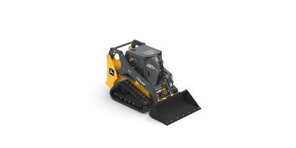 Improved Rubber Tracks for John Deere G-Series Compact Track Loaders