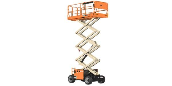 JLG 26- and 33-FT Rough-Terrain, Electric Rough Terrain Scissor Lifts