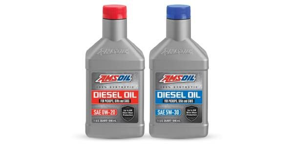 AMSOIL Announces Two New 100% Synthetic Diesel Oils