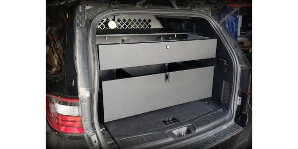 Stackable Weapon Locker Options for Dodge Durango