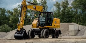 Cat M316 Wheeled Excavator Delivers Improved Performance