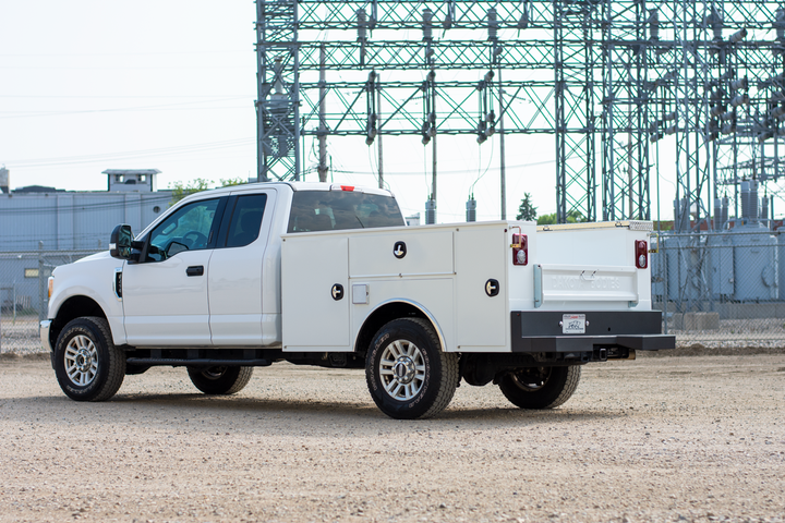 The weld together design of the Gen II Service Body provides a long-term, solid connection between parts to achieve exceptional structural integrity. - Photo: Dakota Bodies