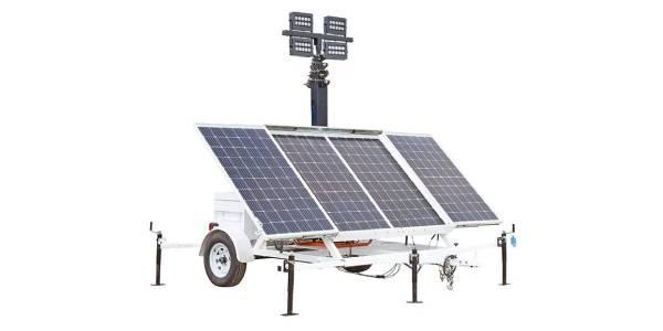 Larson Electronics Solar Power Generators with Light Towers