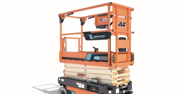 The JLG DaVinci AE1932 All-Electric Scissor Lift requires less energy consumption, allowing for...