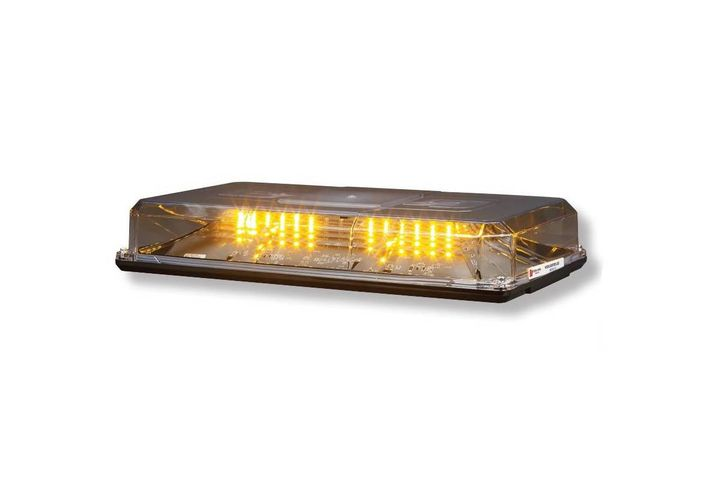 The Highlighter LED Duo is available in amber, blue, green, red, and white LED color options. - Photo: Federal Signal