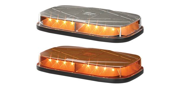 The mini-light bar is equipped with 25 flash patterns and holds an IP69K rating for maximum dust...