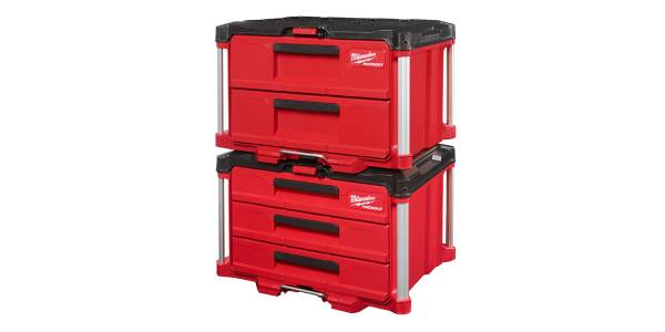 Milwaukee Tool Introduces Two New PACKOUT Storage Drawers