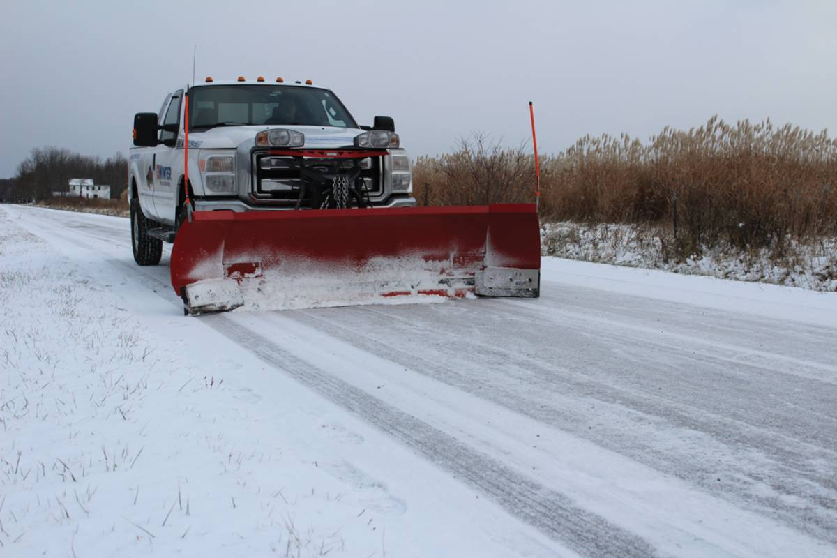 Winter Equipment's Pegasus Expandable Plow Cutting Edge System