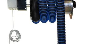 EuroVent Releases Fixed Motorized Hose Reel System