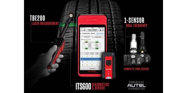 Autel MaxiTPMS ITS600 Intelligent Tire Service