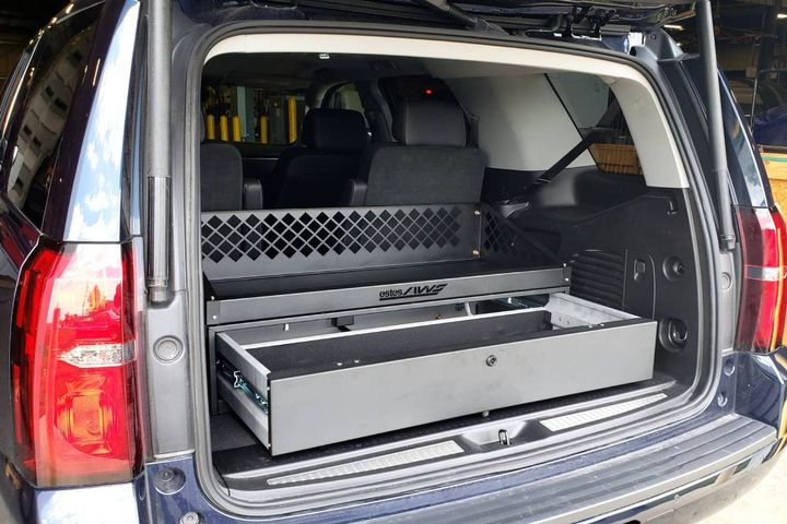 Estes AWS offers three different SUV lockers with different accessibility and lock features for each. - Photo:Estes AWS