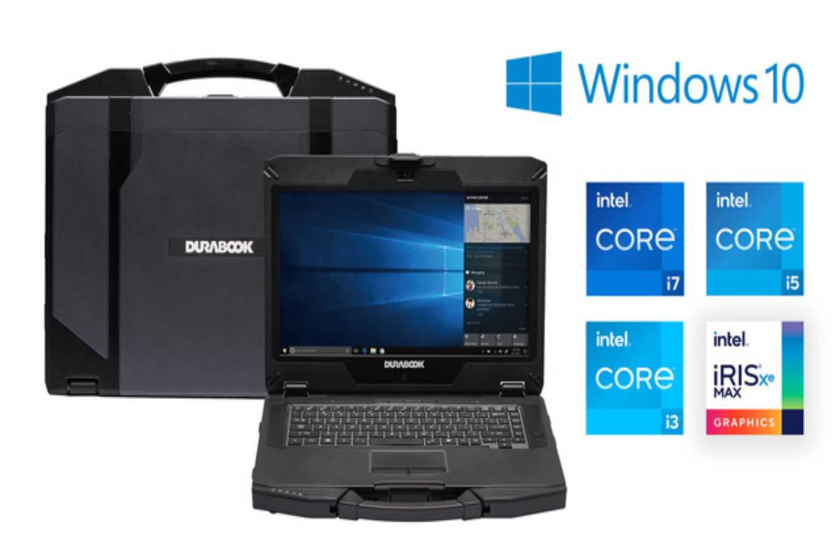 Durabook S14I 14-inch Semi-rugged Laptop
