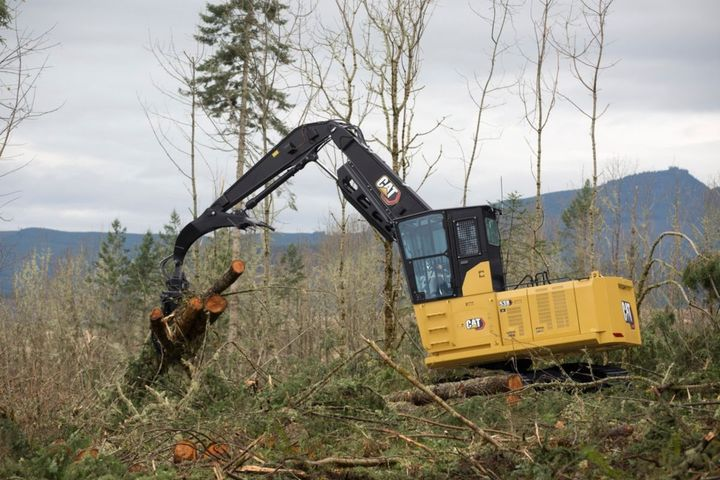 Compared to the previous model, the Cat Next Generation 538 lowers maintenance costs by up to 15% over the course of 12,000 hours of operation. - Photo: Caterpillar