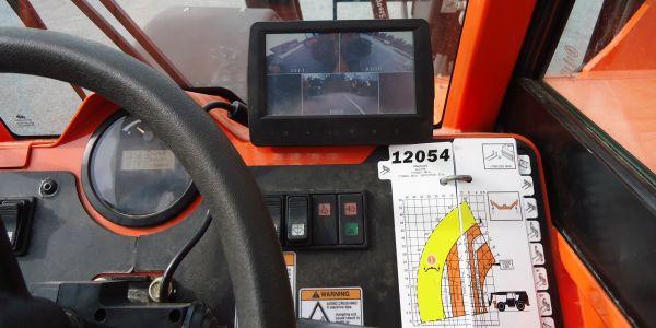 Multi-Reverse Camera System Available for SkyTrak Telehandlers