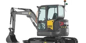 Volvo CE Adds Two Short-Swing Compact Excavators