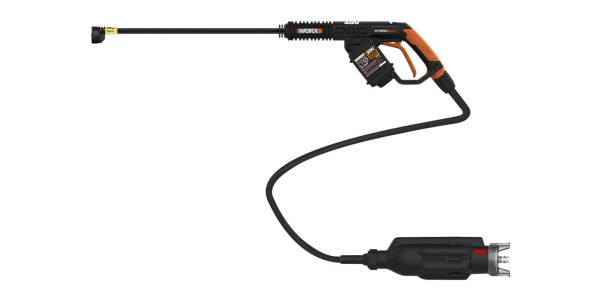 The portable power cleaner features a hi-tech brushless motor and re-designed motor/pump...
