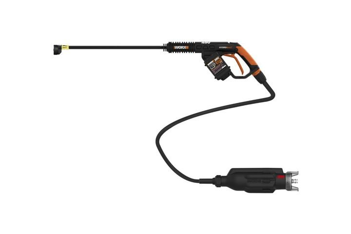 The portable power cleaner features a hi-tech brushless motor and re-designed motor/pump configuration. - Photo: Worx