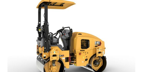 The Cat CB2.7 GC utility compactor comes with a Cat C1.7T engine that meets U.S. EPA Tier 4...