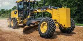 John Deere Enhances GP-Series Motor Graders