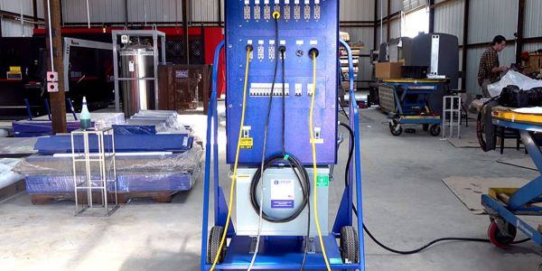 Larson Electronics portable power distribution systems are vibration-resistant units are...
