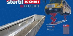 Stertil-Koni Enhances ECOLIFT with Hot-Dip Galvanized Containment Box as Standard