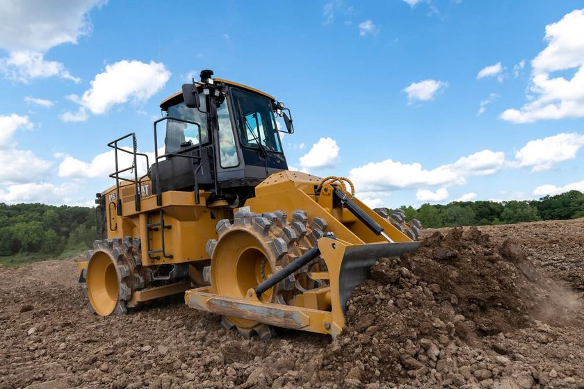 With this new Soil Compactor, GPS mapping is provided, so fewer passes means less fuel and more...
