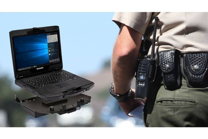 The semi-rugged unit offers computing power, storage capability, connectivity, and enhanced security. - Photo: Durabook