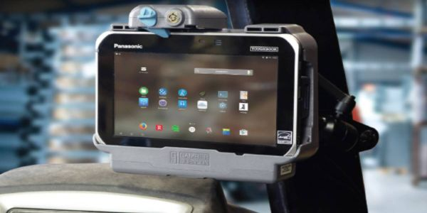 The docking station features a front-facing latch button, making the tablet simple to dock and...