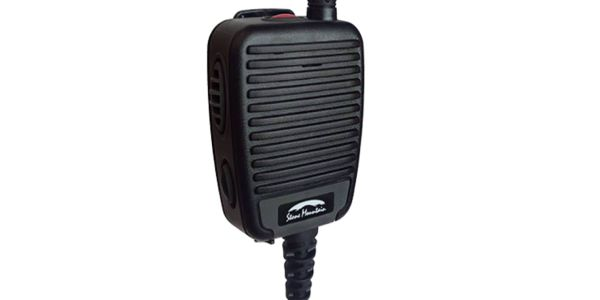 The remote speaker microphone allows users to directly change channels or talk groups and...
