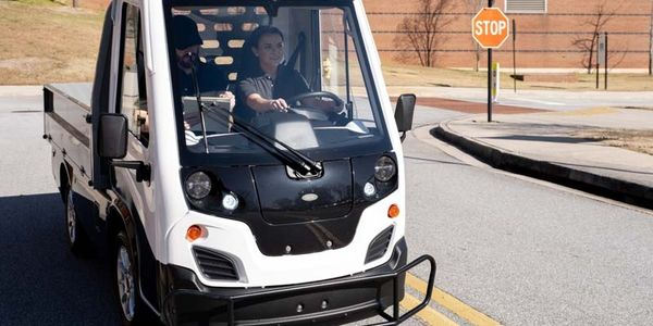 The Club Car Current is a compact all-electric light-duty truck equipped with automotive...