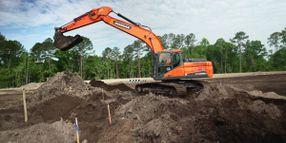 Doosan to Offer Trimble Machine Control Solution for Crawler Excavators