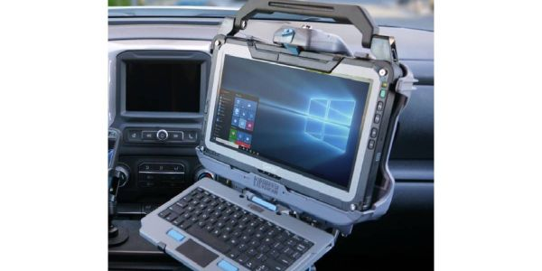 This docking station features Getac certified electronics with a composite chassis that provides...