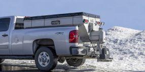 Hilltip Introduces IceStriker 2000-3300 SSA/SSC Salt Spreader