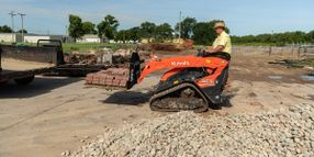 Kubota Launches New Attachments for Stand-On Track Loader