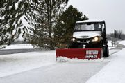 The Impact mid-duty UTV plow features hydraulic positioning and a lightweight design that is...