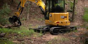 New Cat Mini Hydraulic Excavators Increase Efficiency