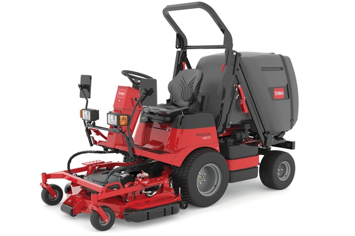 Toro Launches ProLine H800 Direct-Collect Rotary Mower