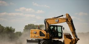 Cat M320 Wheeled Excavator Offers Extended Service Intervals