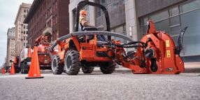 Ditch Witch Ride-On Trencher Maximizes Operator Experience
