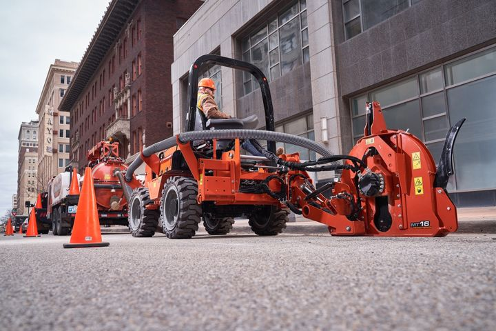 The Ditch WitchRT70 is powered by a 72-hp Yanmar Tier 4 Stage V compliant diesel engine. - Photo: Ditch Witch