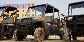 Polaris Launches Mid-Size Pro XD Work Utility Vehicle