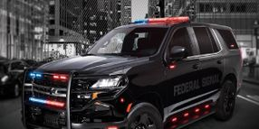 Federal Signal Push Bumpers, Wire Covers for Police Vehicles